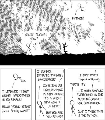 XKCD 353: Python